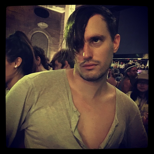 Sweaty emo Josh/Han.