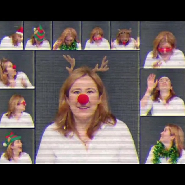 As part of the Mi9 Tech Christmas video, I got to live my Brady Bunch dream!