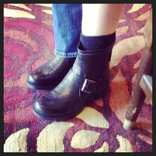 Retail therapy. I found my perfect boots!