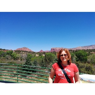 Amazing red rock formations on our way to Sedona. We gasped a lot. #nofilter