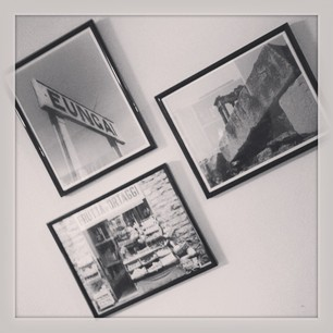 We also framed some of the Snook's photography. #fillallthewalls