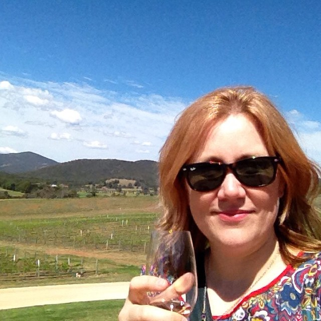 Our first #mudgeesmuggler stop - Logan Wines. Beautiful wine, beautiful day!