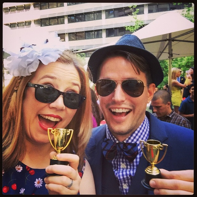 Best couple! #melbournecup #nocompetition #literally