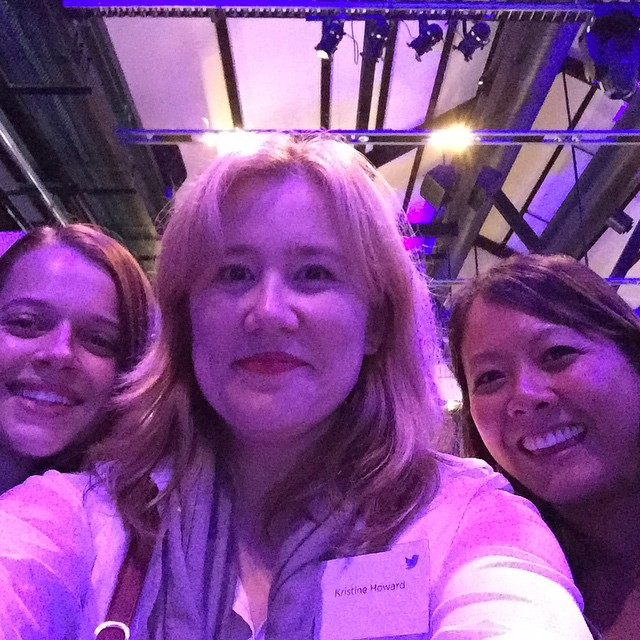 Selfie with the Shine women. (I *do* have TV friends!) #TVxTwitter