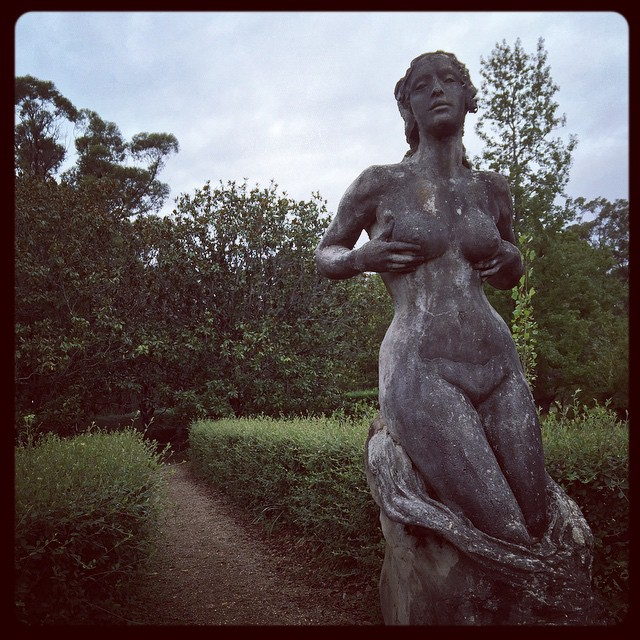 Norman Lindsay's garden was beautiful. She was my favourite (next to Albert the Puddin', of course).