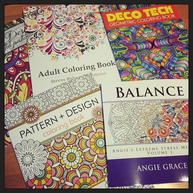 YES. There's the weekend sorted. #stressedout #colorallthethings