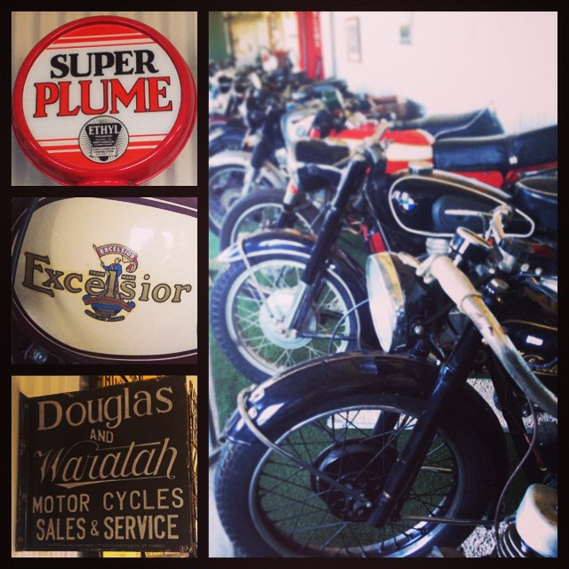 A winery with a vintage motorcycle museum? My Dad would love this. #mudgeesmuggler