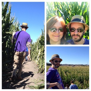 We did the Amazing Corn Maze! Mr Snook used SCIENCE to get us through.