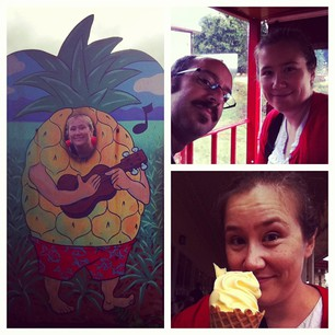 Fun at the Dole Plantation!