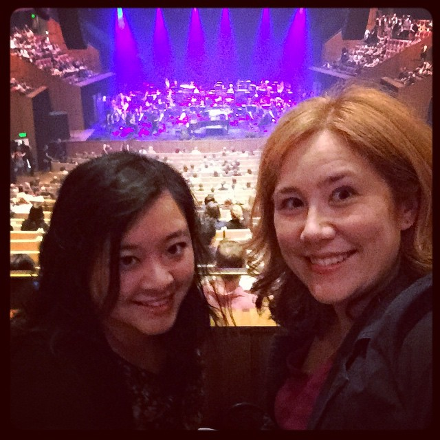 Waiting for Ben Folds (and Sydney Symphony Orchestra) with @nessnomster!
