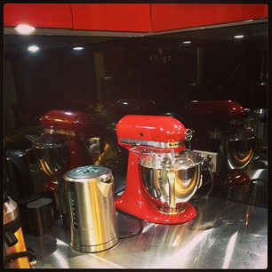 I think it really ties the kitchen together, don't you? #kitchenaid #love