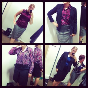 Shopping montage! Didn't get all these pieces, but most.