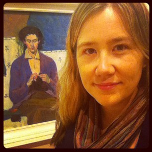 Visiting one of my favourite paintings by Grace Cossington Smith.