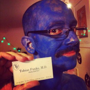 Happy Halloween from Dr Tobias Fünke!