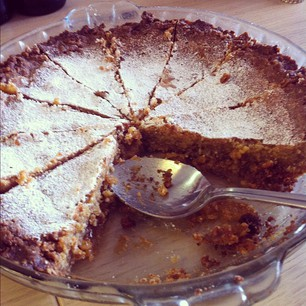 The Momofuku Crack Pie was a big success. Yum.