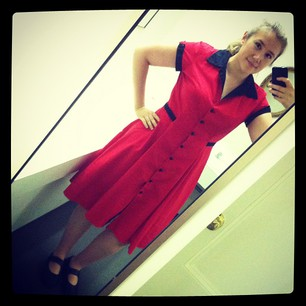 Frocktober #18. The Diner Dress from Heartbreaker. #fifties #drag