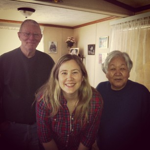 Visited Grandma and Grandpa Harter this morning!
