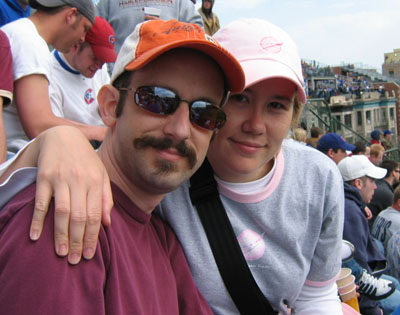 Me and the Snook, Wrigley Field, 2007