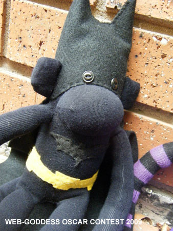 Batman Sock Monkey