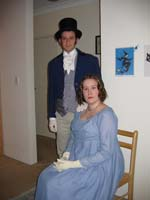 Mr. Darcy and Miss Elizabeth Bennet