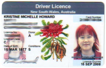 My NSW Driver's License