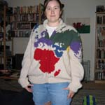 Geography Cardigan