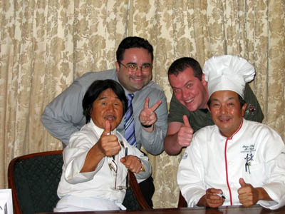 Toast, Shan, and the Chefs
