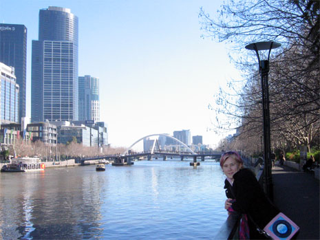 Me and the Yarra