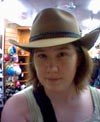 I sent this one to the Snook while shopping for a hat for my brother. I told him I'd be using it for my McLeod's Daughters audition.