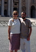 The Snook and I in Rome