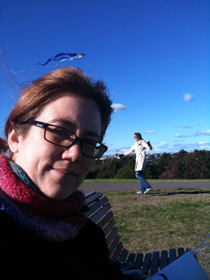 Kite Flying - Me and Eileen