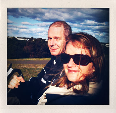 Kite Flying - Eileen and Dean
