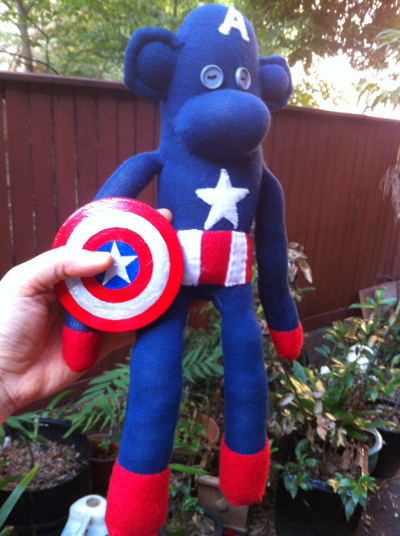 Captain America Monkey