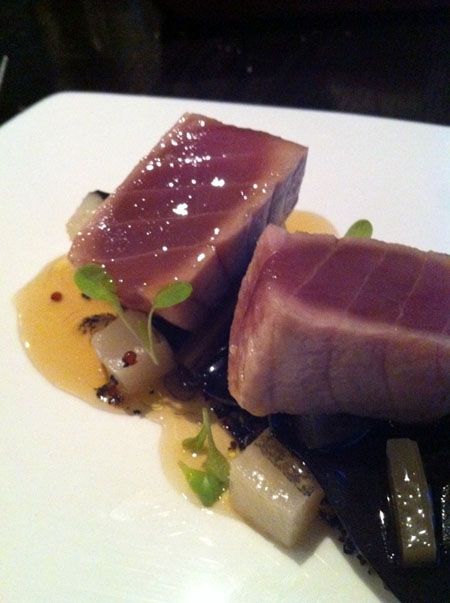Jamon Poached Tuna