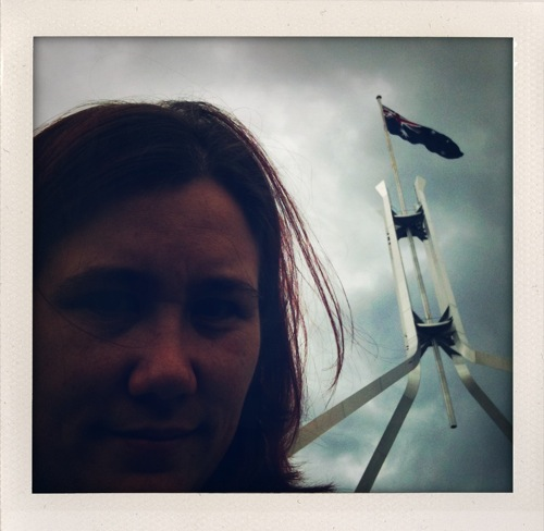 Me on Parliament House