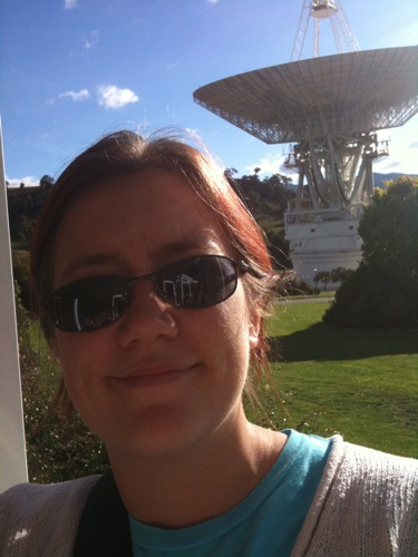 Me and the big dish