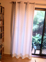 Hemmed curtains
