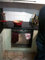 New cooktop and oven