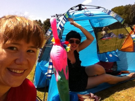 Me and Reecie - Opera in the Domain 2011