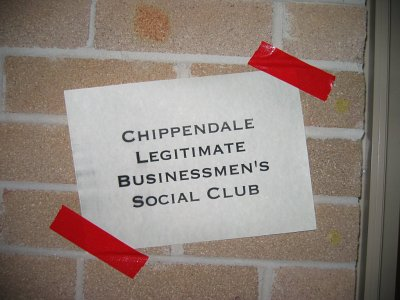 The Chippendale Legitimate Businessmen's Social Club