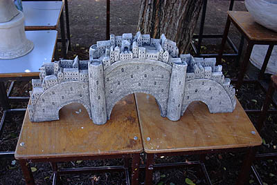 Paper clay castle
