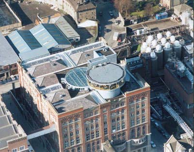 The Storehouse as seen from above