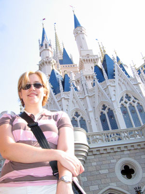 Me and Cinderella's Castle