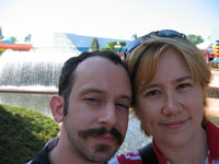 Me and the Snook at Epcot