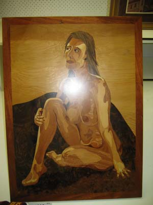 Naked lady woodwork