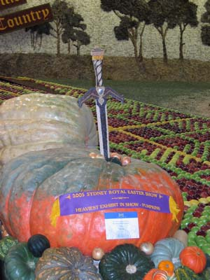 Sword in the Pumpkin