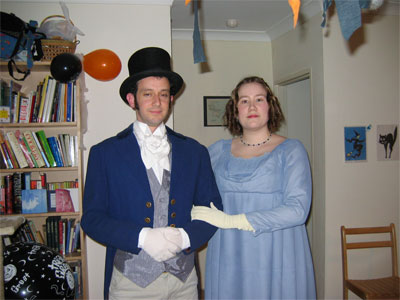 Mr. Fizwilliam Darcy and Miss Elizabeth Bennet
