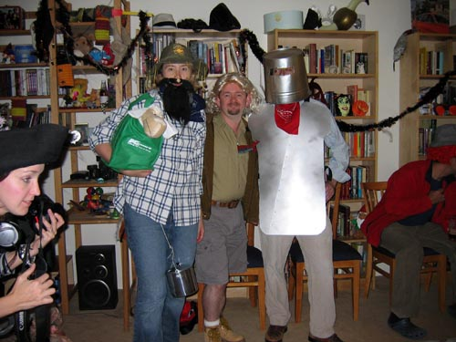 Swagman, Steve Irwin, and Ned Kelly