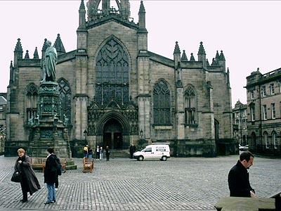 St. Giles Cathedral...