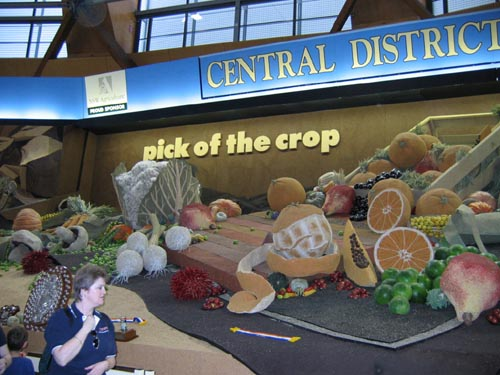 Produce exhibit